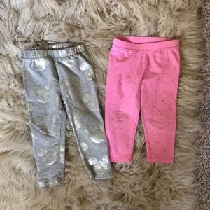 2T bundle of gap leggings